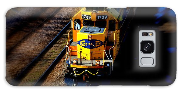 Fast Moving Train Galaxy Case by Karen Kersey