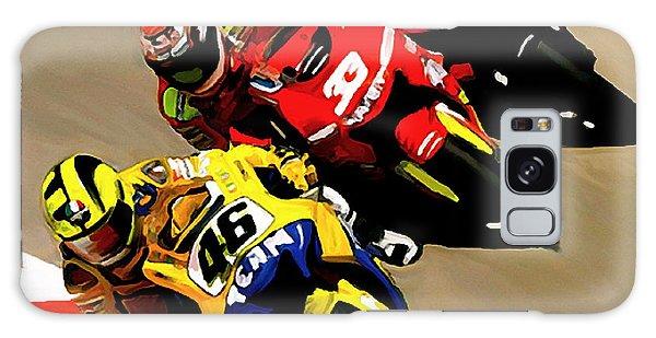 Faster  Valentino Rossi Nicky Hayden Galaxy Case