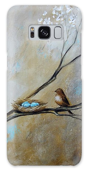 Fat Little Bird's Nest Galaxy Case by Dina Dargo