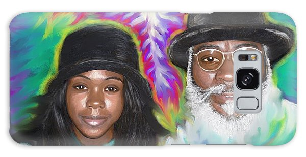 Father And Daughter Spirit Ministry  Galaxy Case
