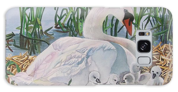 Gosling Galaxy Case - Father On Guard by Karen Park