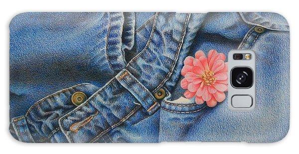 Favorite Jeans Galaxy Case by Pamela Clements
