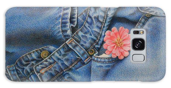 Favorite Jeans Galaxy Case by Pamela Clements