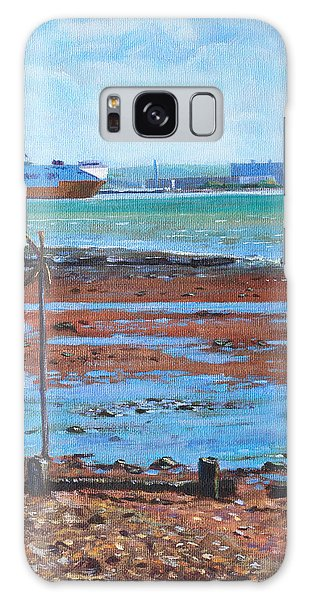 Fawley Power Station From Weston Shore Hampshire Galaxy Case