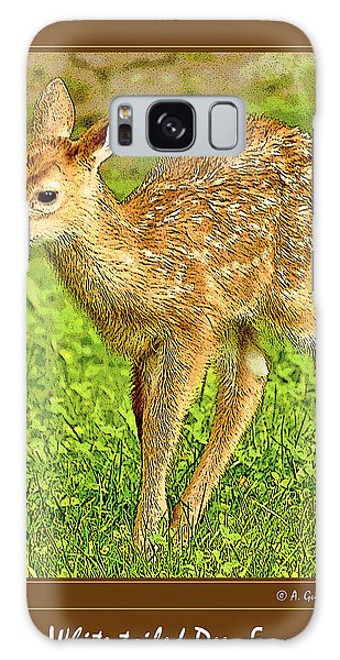 Galaxy Case - Fawn Poster Image by A Gurmankin