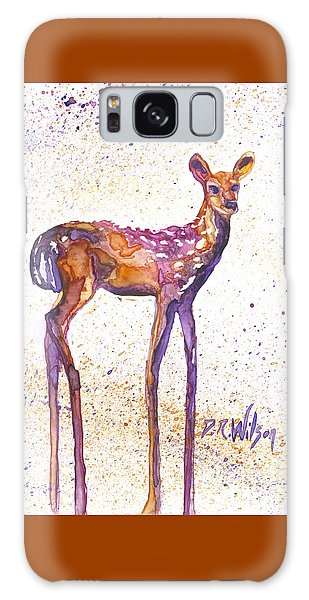 Fawn Rising Galaxy Case by D Renee Wilson