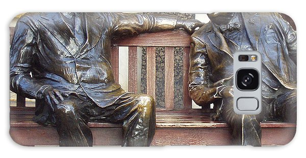 Fdr And Churchill Having A Chat In London Galaxy Case