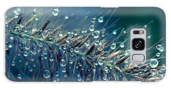 Feather Grass Dance  Galaxy Case by Jean OKeeffe Macro Abundance Art