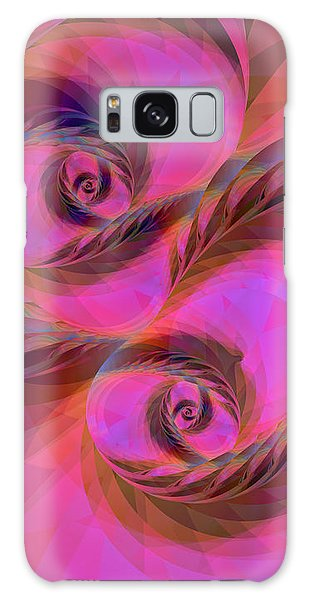 Feathers In The Wind Galaxy Case by Judi Suni Hall
