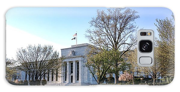 Federal Reserve Building Galaxy Case by Olivier Le Queinec