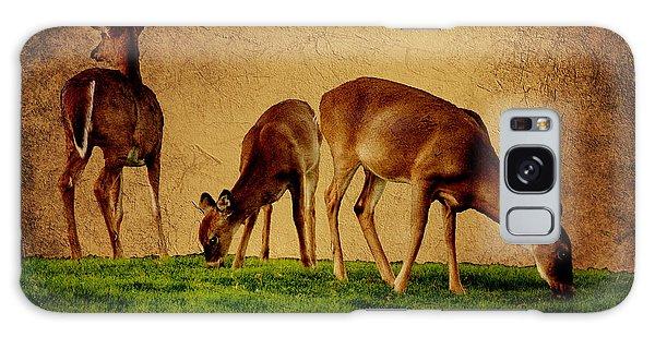 Feeding Deer Galaxy Case
