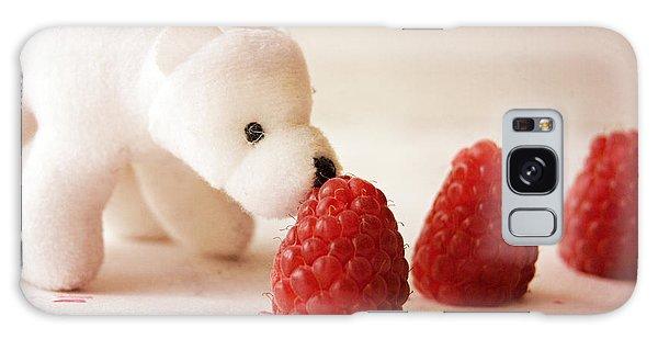 Feeding The Polar Bear I Galaxy Case