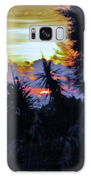 Feeling A Sunset Galaxy Case