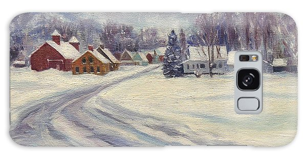Felchville Village In The Snow Galaxy Case
