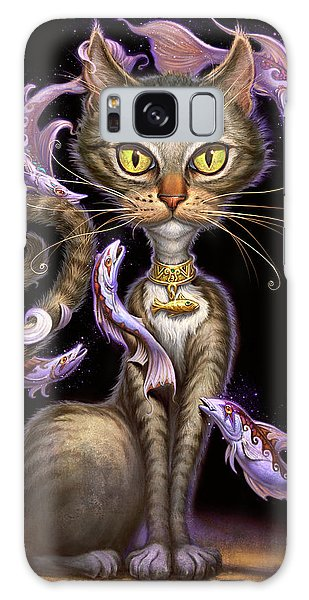 Beautiful Galaxy Case - Feline Fantasy by Jeff Haynie