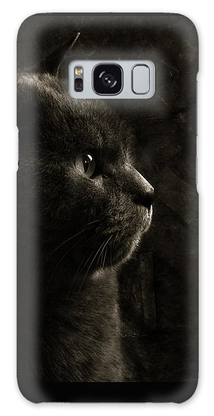 Feline Perfection Galaxy Case by Laura Melis