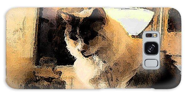 Feline Rodin Galaxy Case