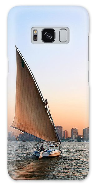 Felucca On The Nile Galaxy Case