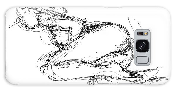 Female-erotic-sketches-8 Galaxy Case