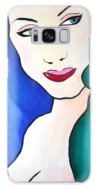 Female Face Shapes And Forms Galaxy Case