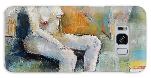 Female Nude 2 Galaxy Case by Becky Kim
