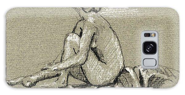 Nudes Galaxy Case - Female Nude Study by Juan  Bosco