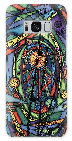Female Spirituality  Galaxy Case
