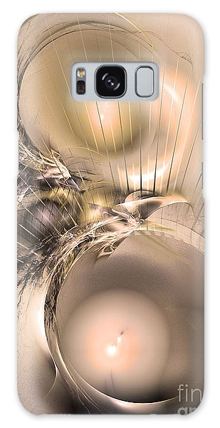 Femina Et Vir - Abstract Art Galaxy Case