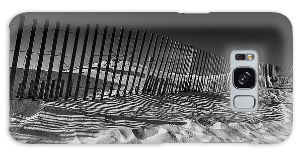 Fence On Beach Galaxy Case