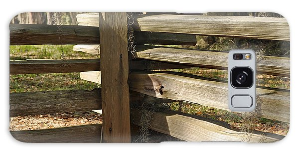 Fence Posts In Jekyll Island's Historic District Galaxy Case