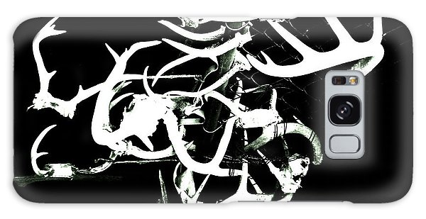 Fenced Antler Galaxy Case by Amy Sorrell