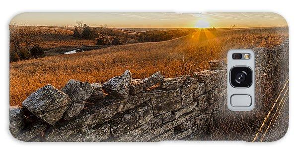 Fences Galaxy Case by Scott Bean