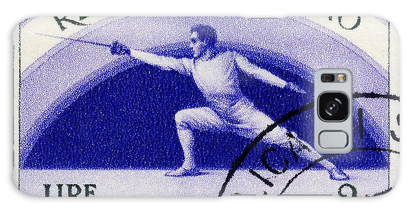 Fencing On San Marino Stamp Galaxy Case