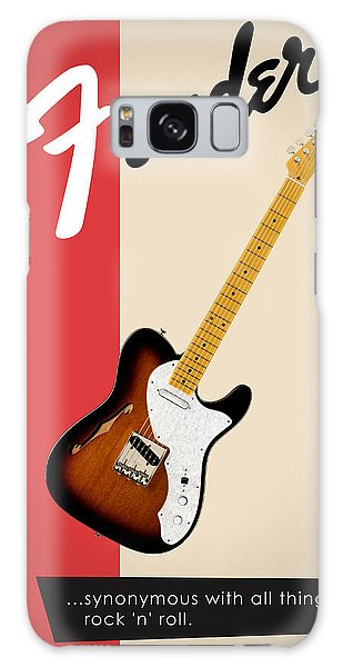 Guitar Galaxy Case - Fender All Things Rock N Roll by Mark Rogan