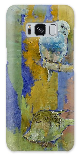 Parakeet Galaxy Case - Feng Shui Parakeets by Michael Creese