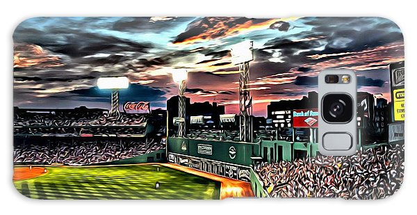 Fenway Park At Sunset Galaxy Case