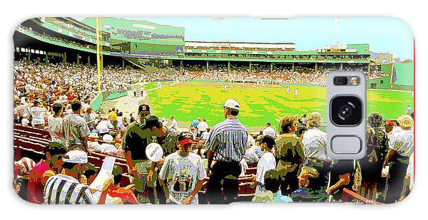 Galaxy Case - Fenway Park Fans Boston Digital Painting by A Gurmankin