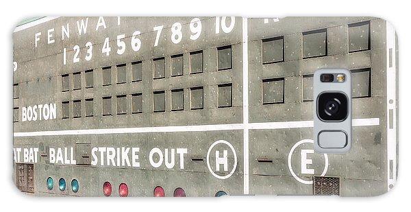 Fenway Park Scoreboard Galaxy Case