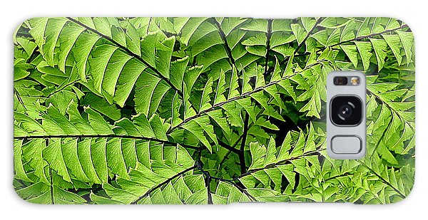 Fern Abstract Galaxy Case by Brian Chase