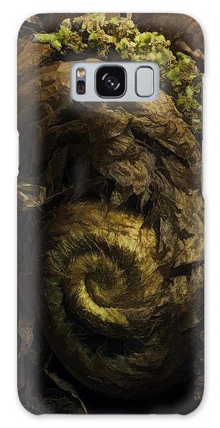 Fern Headdress Galaxy Case by Jean OKeeffe Macro Abundance Art