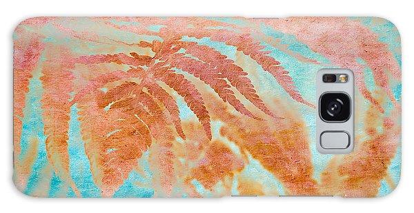 Galaxy Case featuring the mixed media Fern Impressions Art by Priya Ghose