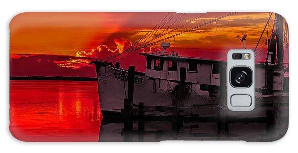 Fernandina Sunset Galaxy Case