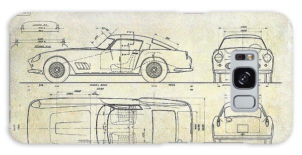 Blueprint Galaxy Case - Ferrari 250 Gt Blueprint Antique by Jon Neidert