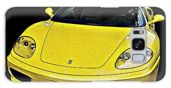 Ferrari 360 Modena In Yellow Galaxy Case