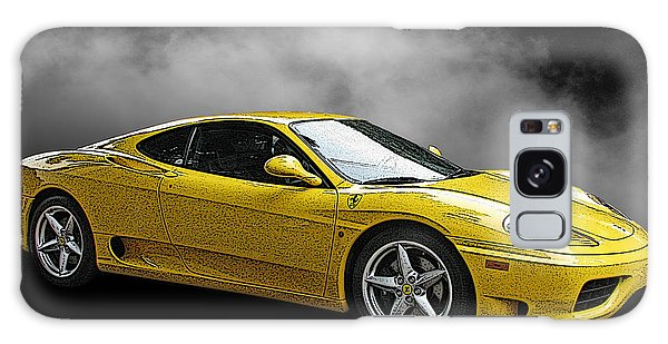 Ferrari 360 Modena Side View Galaxy Case