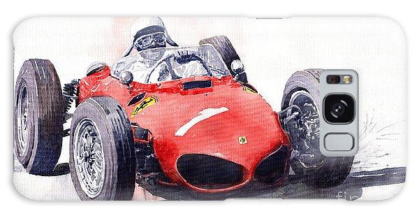 Sport Car Galaxy Case - Ferrari Dino 156 F1 1961  by Yuriy Shevchuk