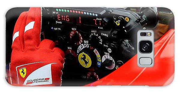 Ferrari Formula 1 Cockpit Galaxy Case