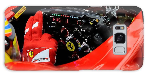 Ferrari Formula 1 Cockpit Galaxy Case