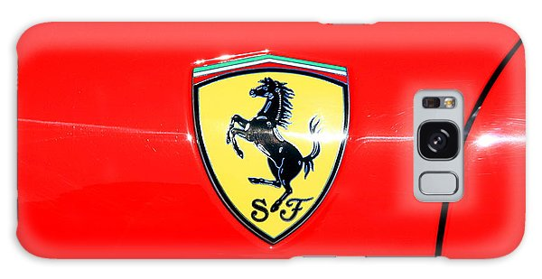 Ferrari Logo Galaxy Case