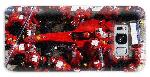 Ferrari Make Changes In Pit Lane Galaxy Case